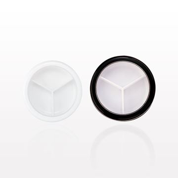 Picture of Jar and Cap with 3 Way Divider