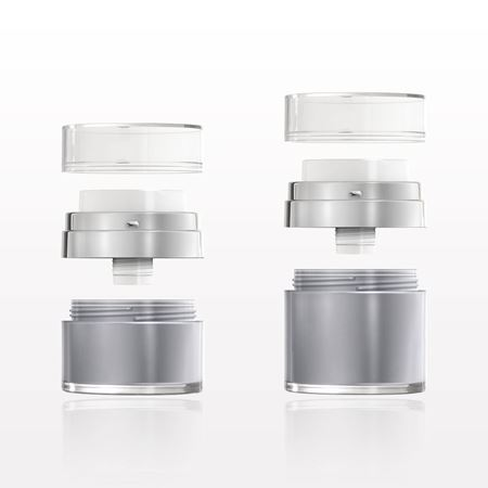 Picture of Platinum Jar with Easy Press Airless Pump and Overcap