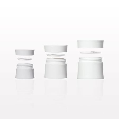 Picture of Hourglass Jar with Cap and Disc Liner