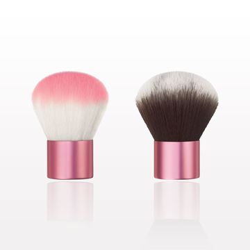 Picture of Two Tone Kabuki Brush with Shiny Handle
