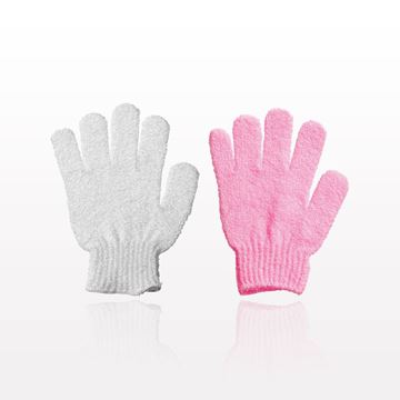 Picture of Exfoliating Bath Glove with Retail Hang Tab