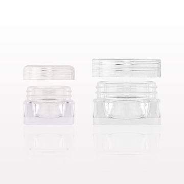 Picture of Square Jar and Cap