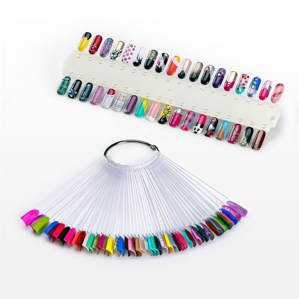Picture Of Ring For Nail Polish Swatch Sticks