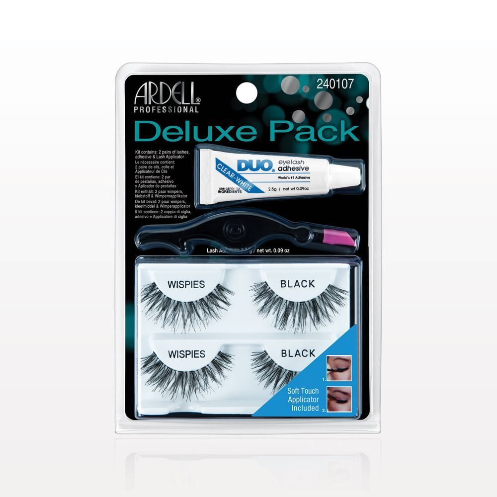 4642a522580 Ardell® Professional Deluxe Pack Wispies, Black