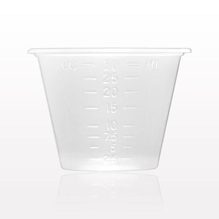 Picture of Measuring Cup with Markings for oz., ml, cc, tbs, and drams