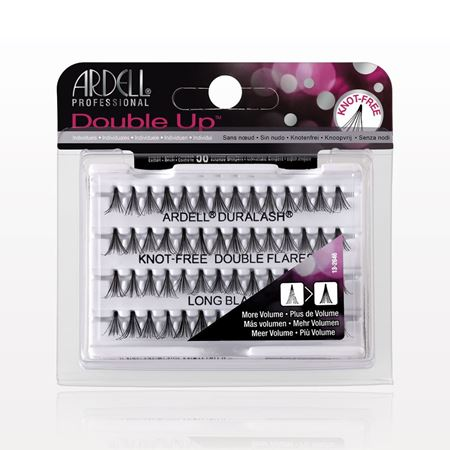 Picture of Ardell® Professional Double Up™ Duralash® Knot-Free Long Double Flares, Black