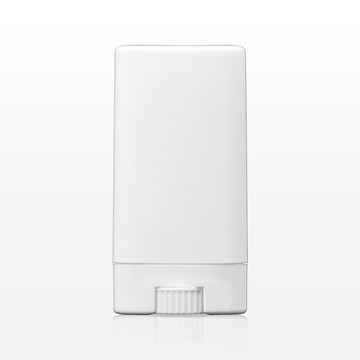 Picture of Oval Balm Container and Cap, White