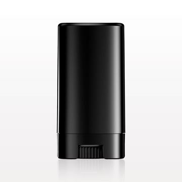 Picture of Oval Balm Container and Cap, Black