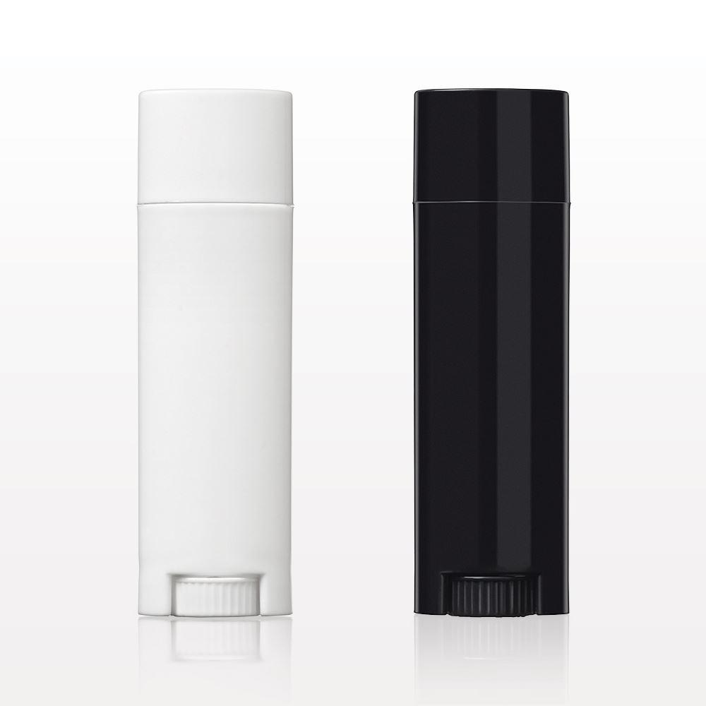 Qosmedix  Oval Lip Balm Containers and Caps