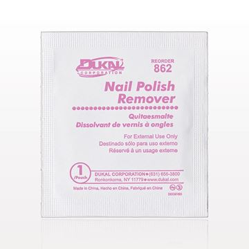 Picture of DUKAL™ Non-Acetone Nail Polish Remover Pads