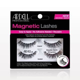 Picture of Ardell® Professional Magnetic Lashes, Double Demi Wispies, Black