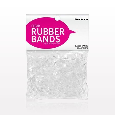 Marianna® Rubber Bands, Clear - 513628
