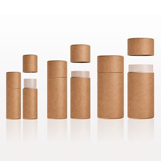 Picture of Paperboard Push-Up Balm Tube, Natural