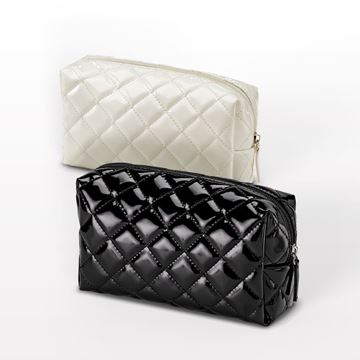 "Picture of ""The Quilted"" Small Cosmetic Bag"