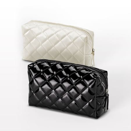 """Picture of """"The Quilted"""" Small Cosmetic Bag"""