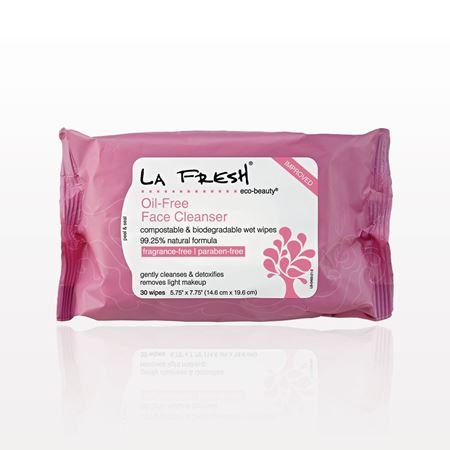 La Fresh Eco-Beauty Oil-Free Face Cleanser Wipes