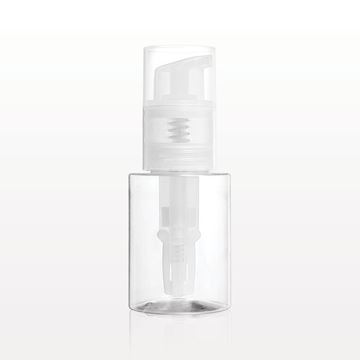 Picture of Powder Spray Bottle with Smooth Neck, Clear
