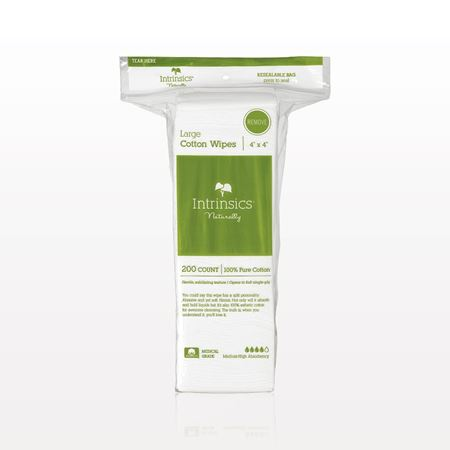 Picture of Intrinsics® Large Cotton Wipes