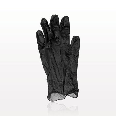 Colortrak™ Vinyl Gloves, Powder Free, Black - 599756