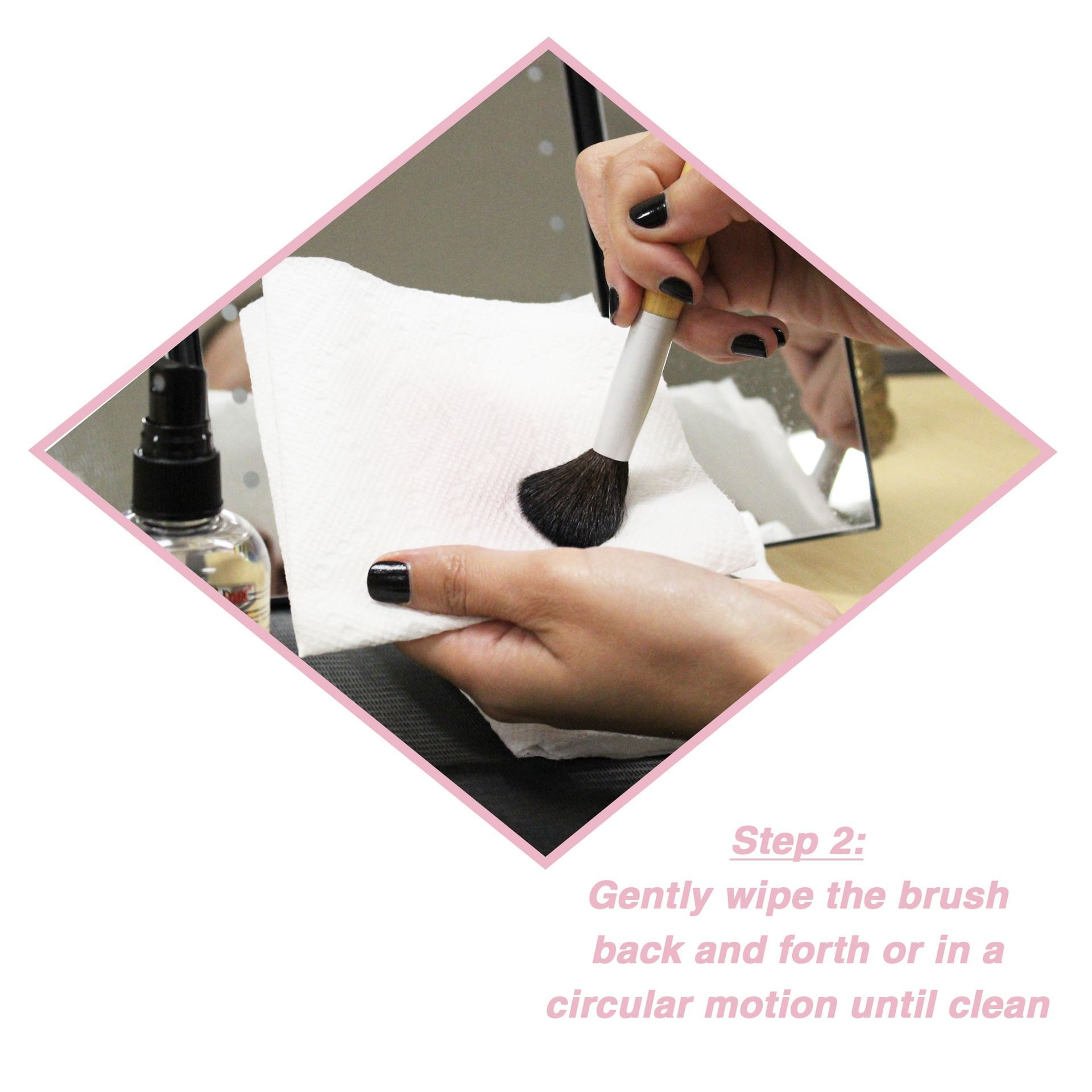 Qosmedix. Qosmedix® Professional Makeup Brush Cleaner
