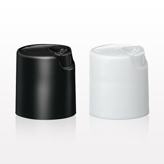 Smooth Snap Top Cap, Black or White for Item 29339 - 29234 - 29342