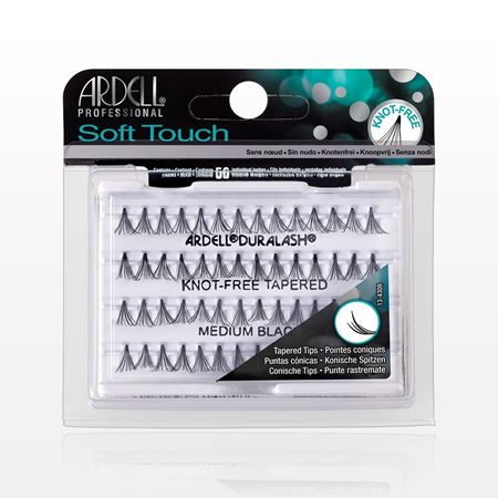 16709ea23b6 Ardell® Professional Soft Touch Duralash® Knot-Free Tapered Individuals,  Medium Black -
