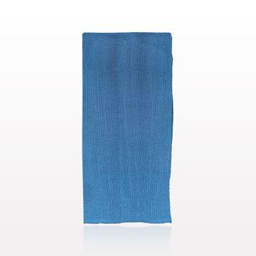 Blue Cotton Towel, 4 Sides Sewn, 100/Box - 73085
