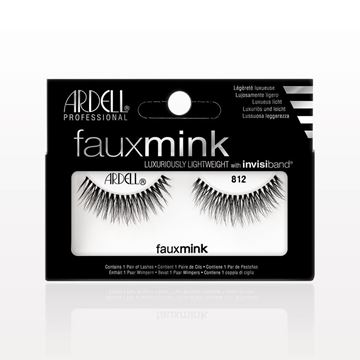 Ardell® Professional Faux Mink with Invisiband® 812, Black - 513423