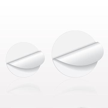 Round Matte Paper Labels - 502098 - 502010