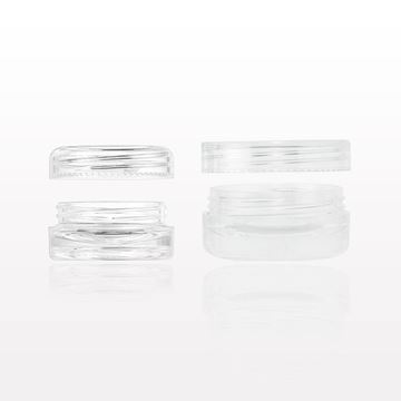 Double Wall Jars with Cap - 29556, 29258