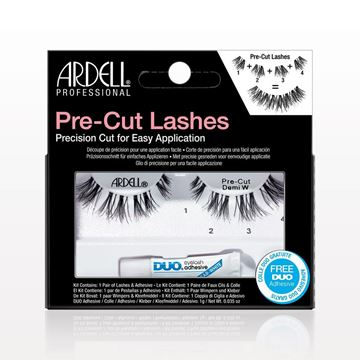 Ardell® Professional Pre-Cut Lashes, Demi Wispies, Black - 73097