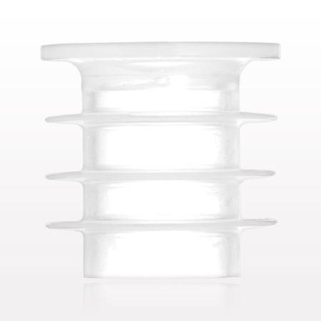 Self-Sealing Press-In Bottle Adapter, Slit Septum - 89228