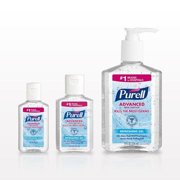 Purell® Advanced Instant Hand Sanitizer - 93520 - 93521 - 93528