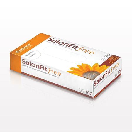 Graham® SalonFit® Latex-Free Vinyl Gloves, Powder-Free, Clear - 599814