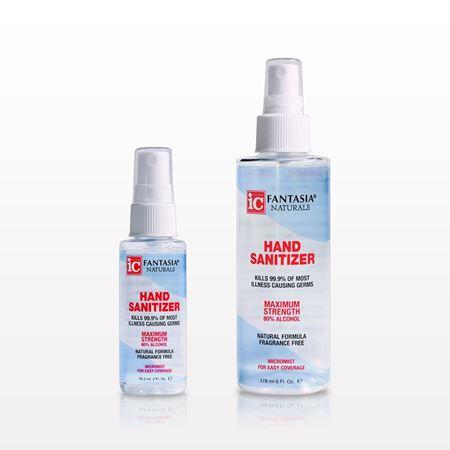 Fantasia® Naturals Hand Sanitizer - 93566 - 93567