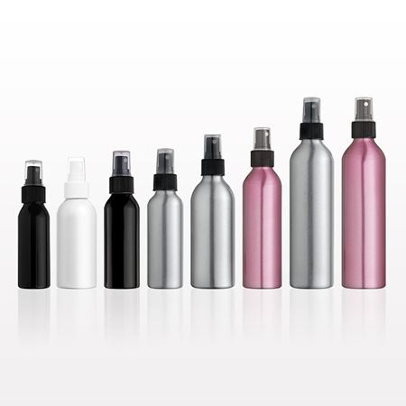 Picture of Aluminum Bottle and Sprayer with Overcap