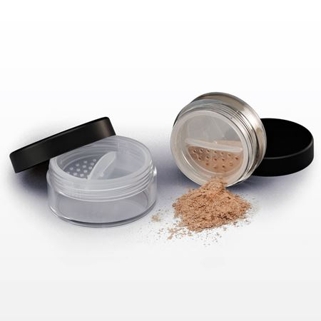 Jar with cap and twistlock sifter-43228-10041