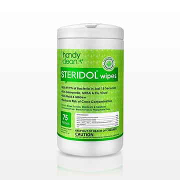 Handyclean™ Steridol® Disinfectant Wipes - 93586