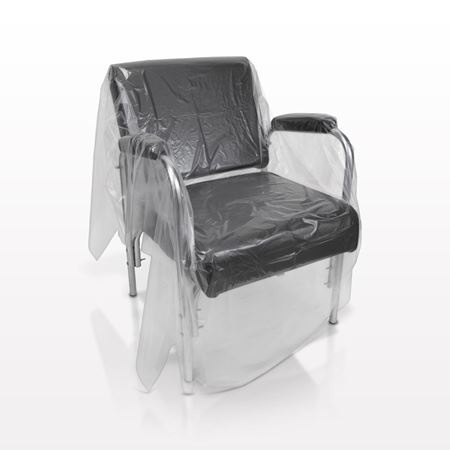 FROMM® Studio Safe™ Disposable Salon Chair Cover, Clear - 504524