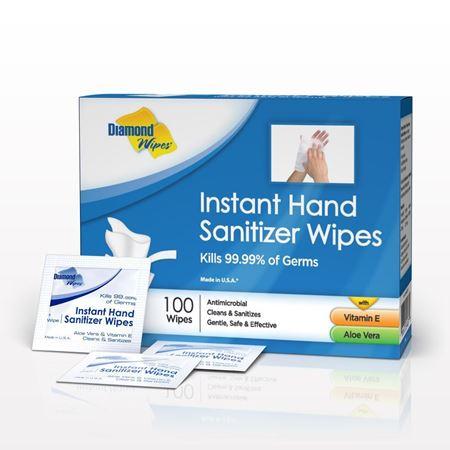 Diamond Wipes® Instant Hand Sanitizer Wipes - 93584