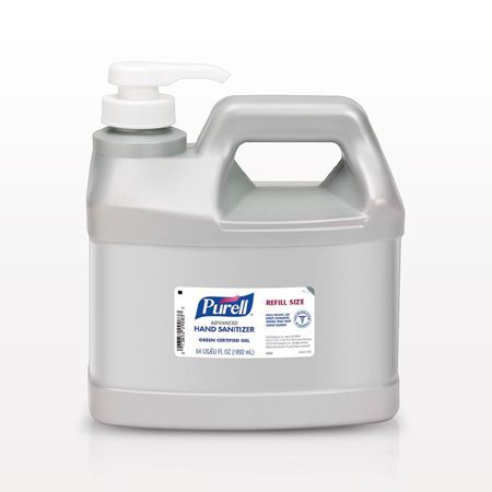 Purell® Advanced Green Certified Gel Hand Sanitizer, Half Gallon - 93592