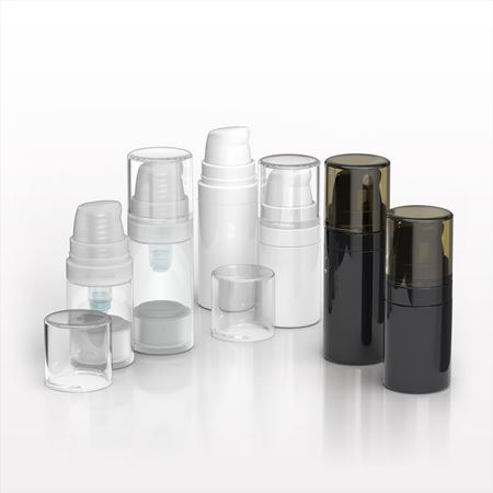 Airless Bottle and Pump with Overcap - 29939 - 29940 - 29984 - 29985 - 30090 - 30091