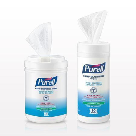 Purell® Hand Sanitizing Wipes - 93527 - 94109