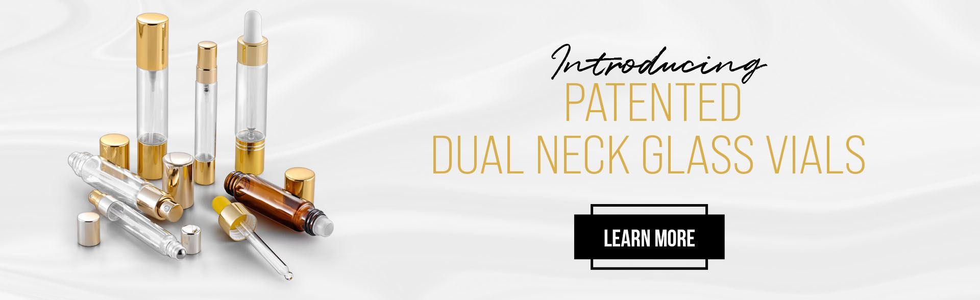 Dual Neck Vials