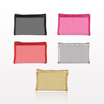 """""""Simply Mesh"""" Small Pouch with Zipper Closure - 59923 - 59946- 59947 - 59925 - 59926"""