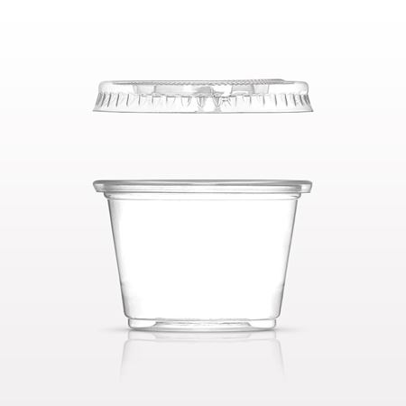 30 ml (1 oz.) Disposable Cup and Lid - 90627 - 90629