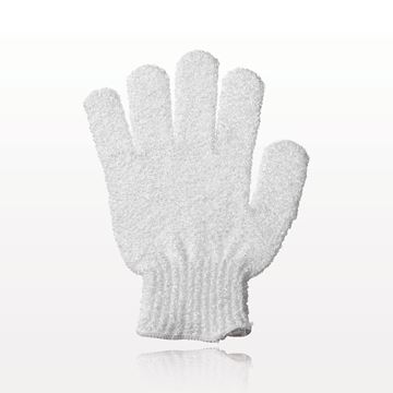 Exfoliating Bath Glove, White - 96594