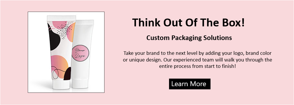 Think Out of the Box. Custom Packaging Solutions. Take your brand to the next level by adding  your logo, brand color, or unique design. Our experienced team will walk you through the entire process from start to finish!