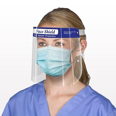 Protective Face Shield, Anti-Fog, Blue - 90640