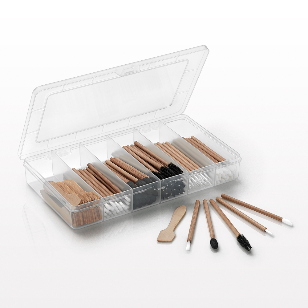 Bamboo Disposable Cosmetic Applicator Kit